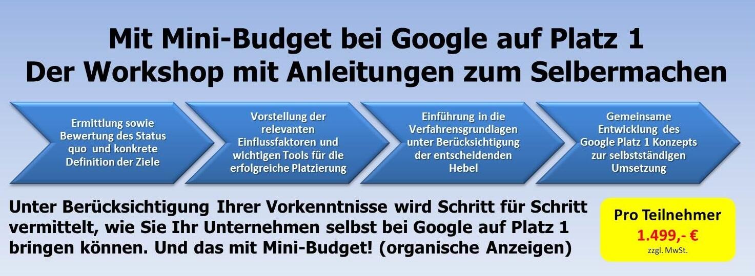 bei-google-auf-eins, Unternehmensberatung