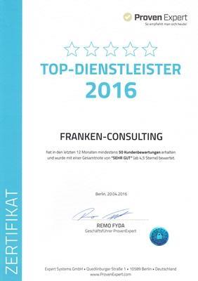 Franken-Consulting Unternehmensberatung Strategie-Marketing-Vertrieb-Digitalisierung