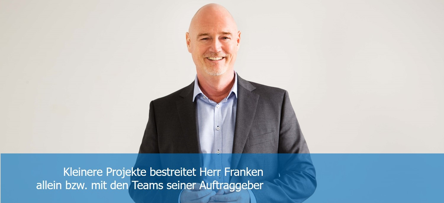 Andreas Franken Consulting Unternehmensberatung Strategie, Marketing, Vertrieb, Beraterprofil