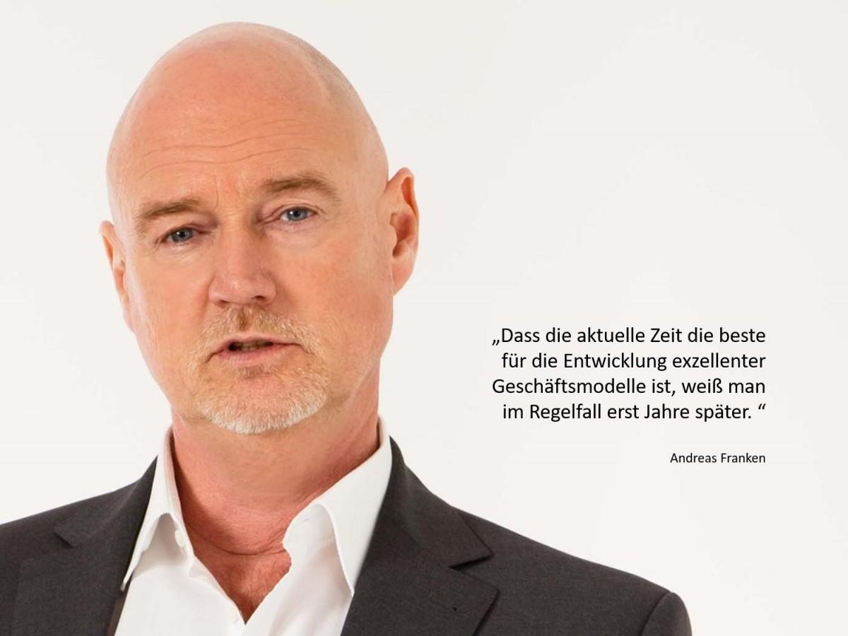 Andreas Franken von FRANKEN-CONSULTING Unternehmensberatung Strategie Marketing Vertrieb