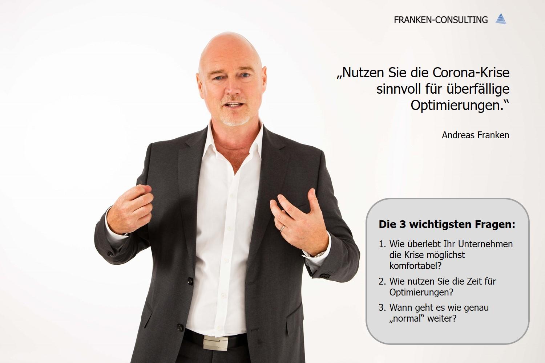 FRANKEN-CONSULTING Unternehmensberatung Corona
