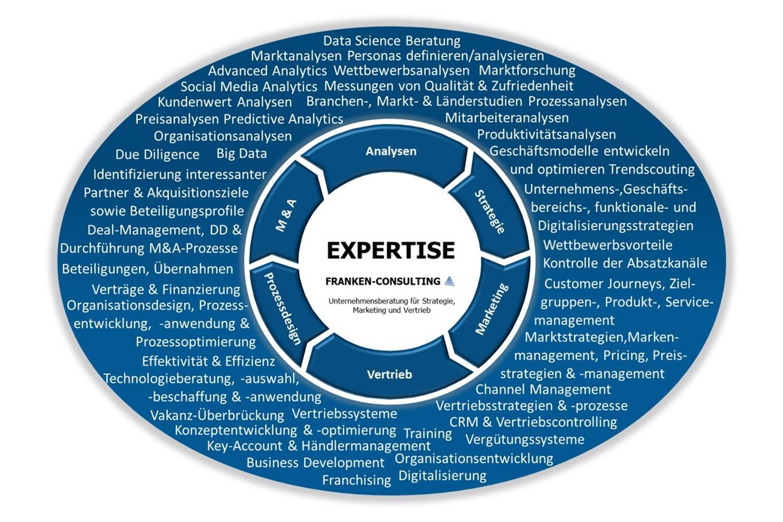 FRANKEN-CONSULTING Unternehmensberatung Strategie, Marketing, Vertrieb, Digitalisierung, Branchenfokus