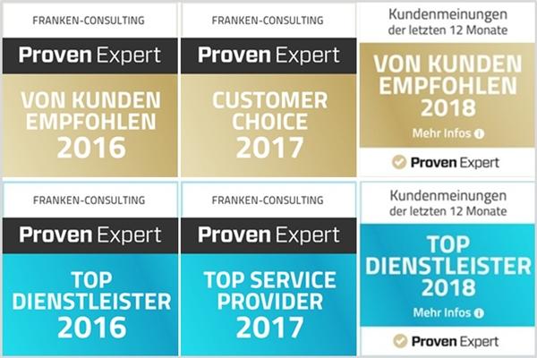 Franken-Consulting Unternehmensberatung Strategie Marketing Vertrieb Digitalisierung Bewertungen
