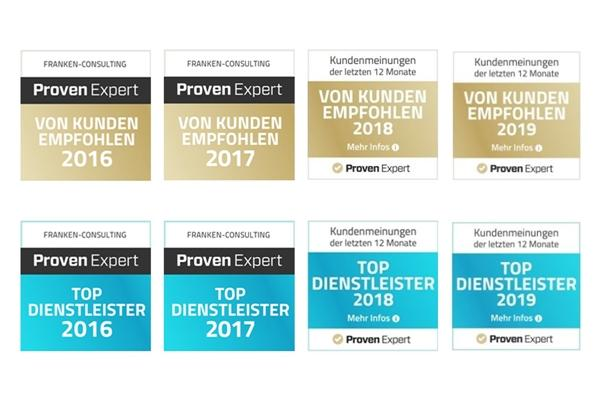 Franken-Consulting Unternehmensberatung beste Bewertungen